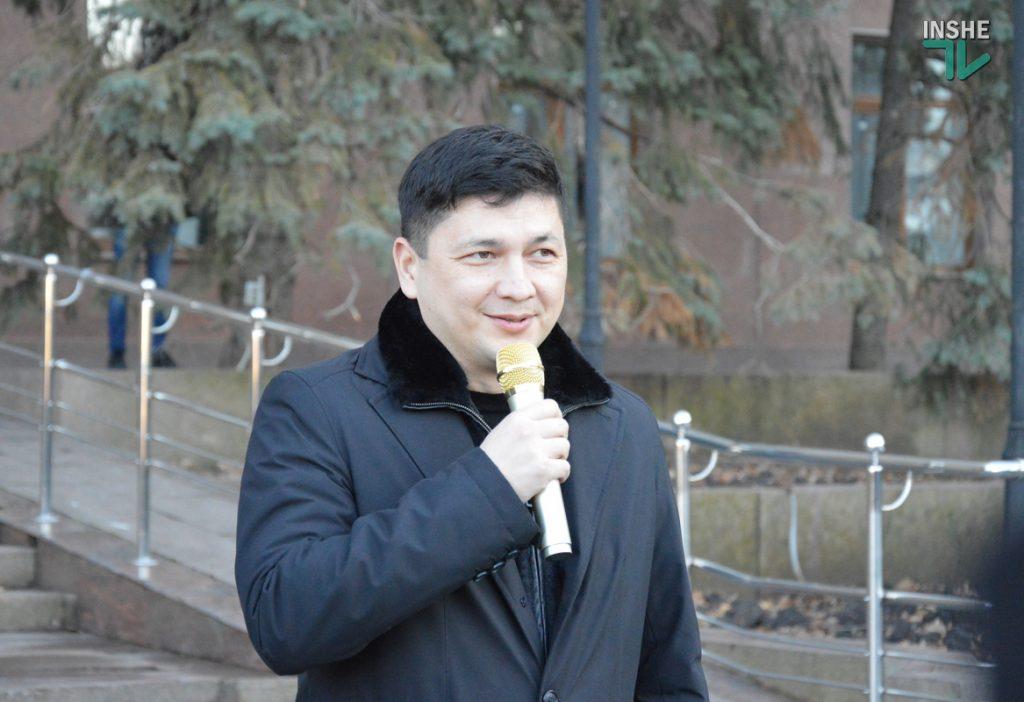 В Николаеве ФОПы вышли протестовать против локдауна (ФОТО и ВИДЕО) 17