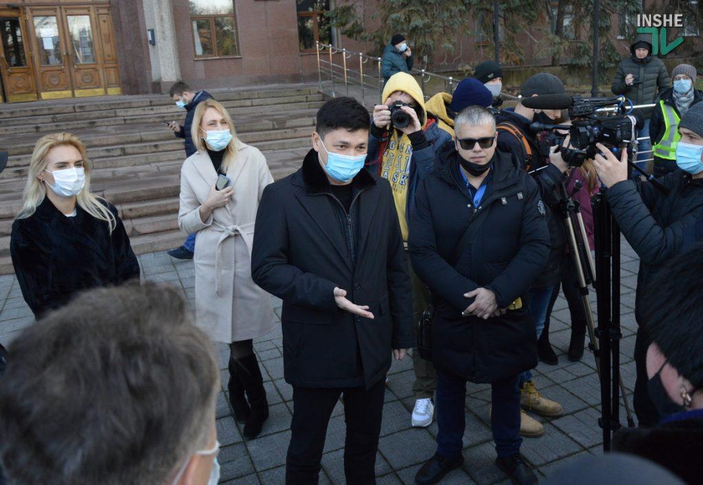 В Николаеве ФОПы вышли протестовать против локдауна (ФОТО и ВИДЕО) 21