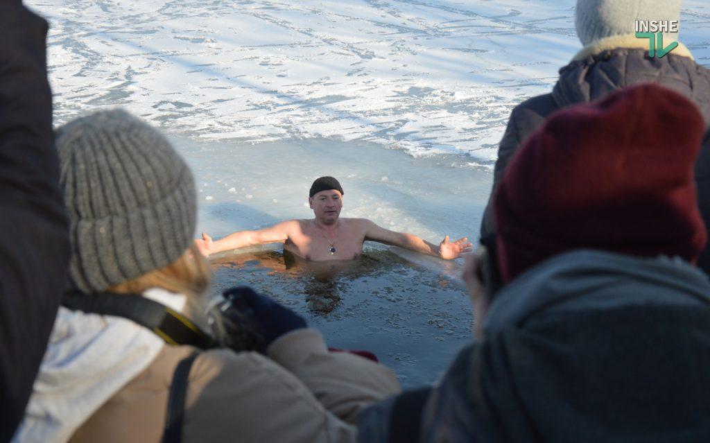 Крещение в Николаеве: сотни горожан пришли на Нижний БАМ искупаться в Ингуле (ФОТО) 31