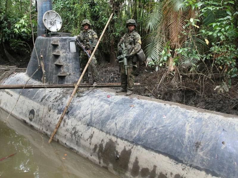 Десятки субмарин для наркомафии построила в Колумбии группа корабелов