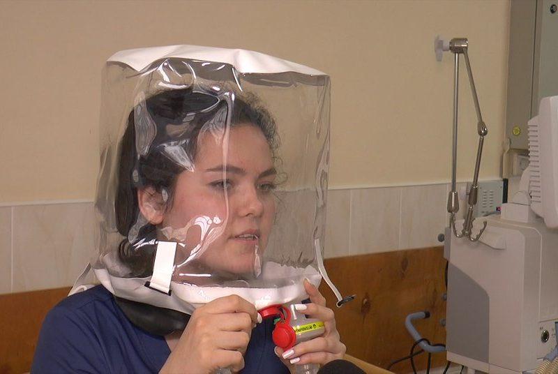 Николаевская больница купила шлемы для дыхания больных COVID за 15 тыс.грн. (ВИДЕО)