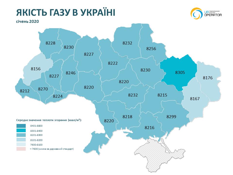 На Николаевщине в ноябре-декабре было самое низкое качество газа (ИНФОГРАФИКА) 5