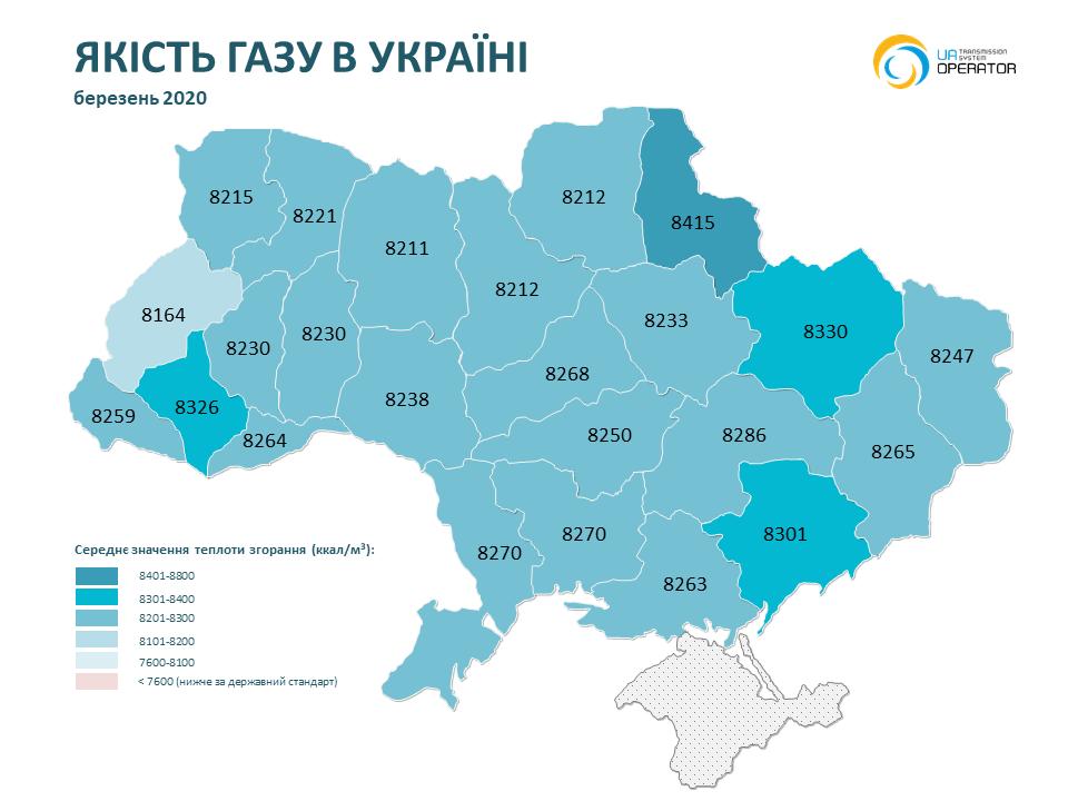 На Николаевщине в ноябре-декабре было самое низкое качество газа (ИНФОГРАФИКА) 9