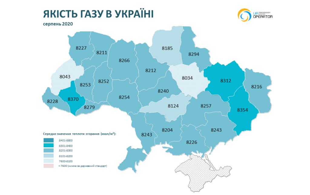 На Николаевщине в ноябре-декабре было самое низкое качество газа (ИНФОГРАФИКА) 19