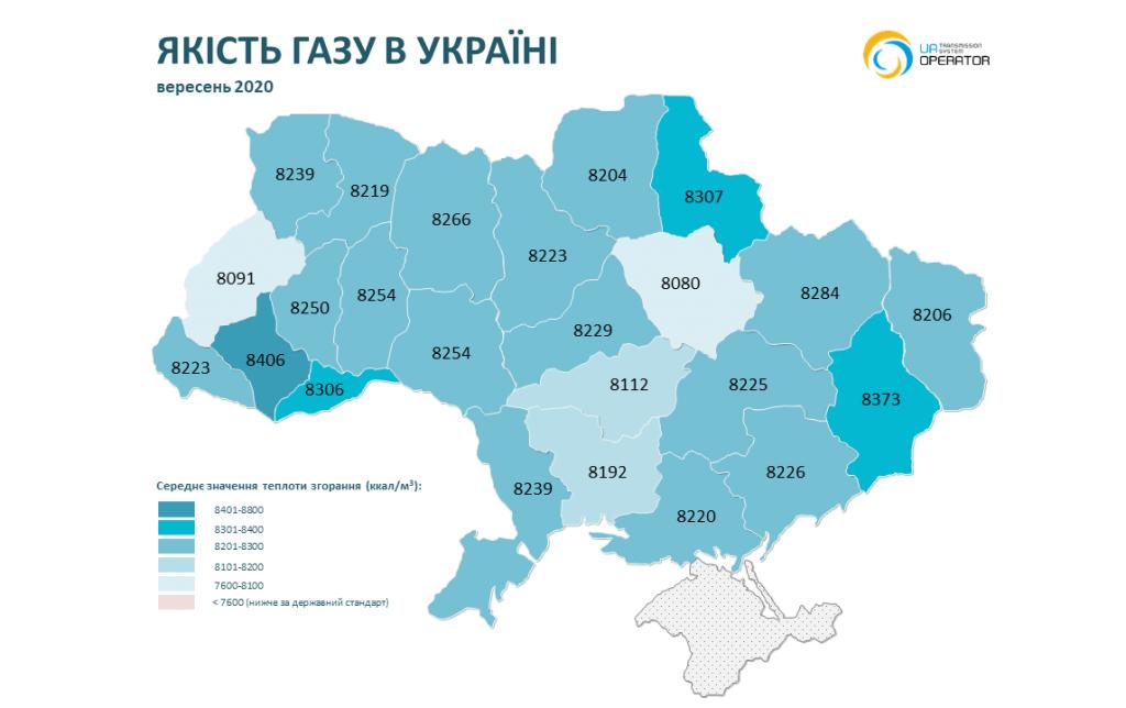 На Николаевщине в ноябре-декабре было самое низкое качество газа (ИНФОГРАФИКА) 21