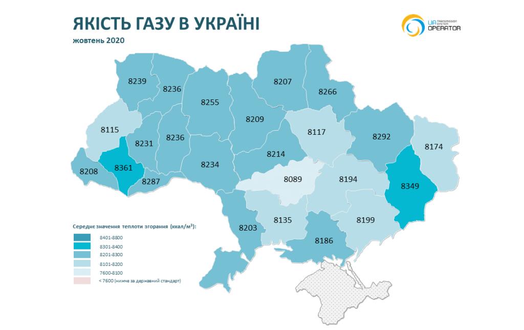 На Николаевщине в ноябре-декабре было самое низкое качество газа (ИНФОГРАФИКА) 23