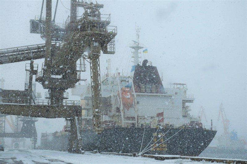 В минувшем году николаевский порт «Ника-тера» обработал на миллион тонн грузов меньше