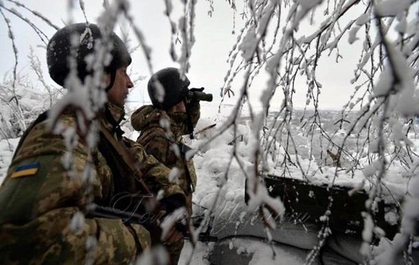Сутки в ООС: два обстрела, ранен военный