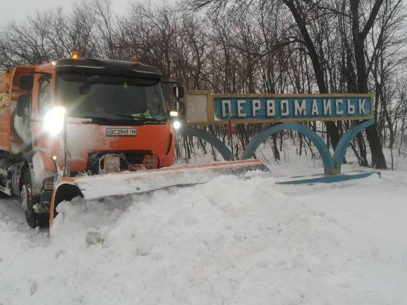 В Первомайске больного доставить к медикам смогли только спасатели