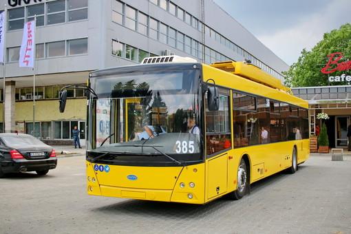 "Поставка для Николаева  20 троллейбусов на автономном ходу поставлена ""на паузу"""