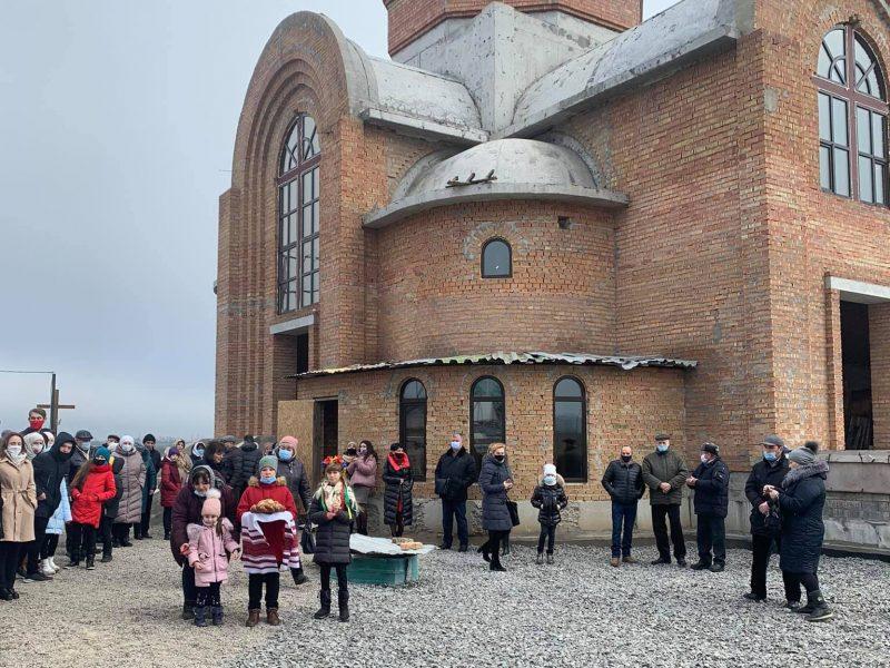 В Николаеве освятили нижний храм УГКЦ (ФОТО)