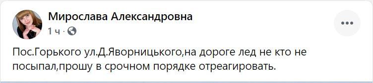 Николаев в ледяной глазури. Что говорят николаевцы (ФОТО) 1