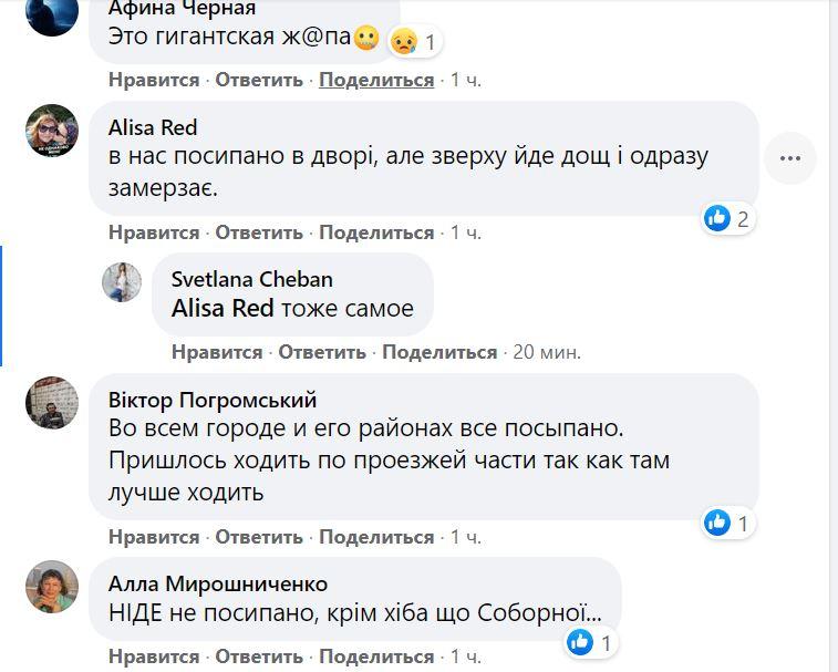 Николаев в ледяной глазури. Что говорят николаевцы (ФОТО) 27