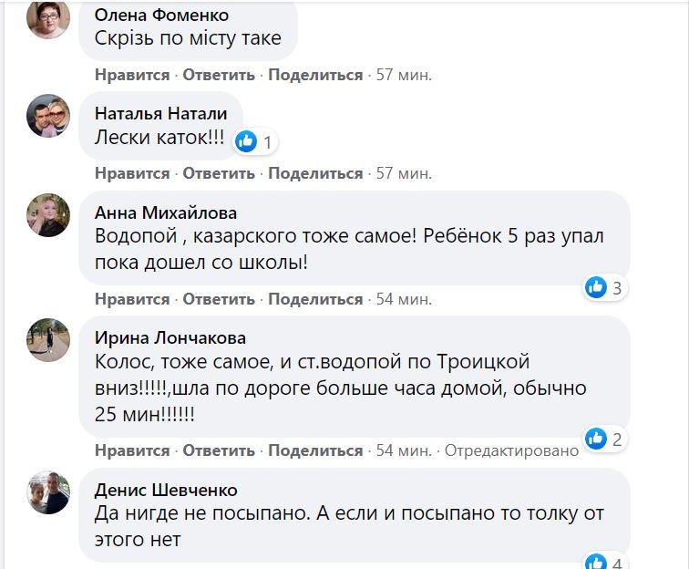 Николаев в ледяной глазури. Что говорят николаевцы (ФОТО) 31
