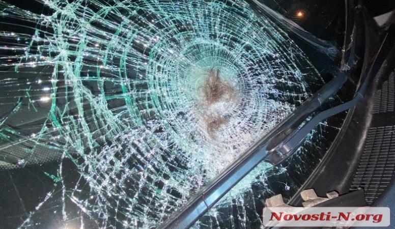 В центре Николаева Nissan сбил пешехода