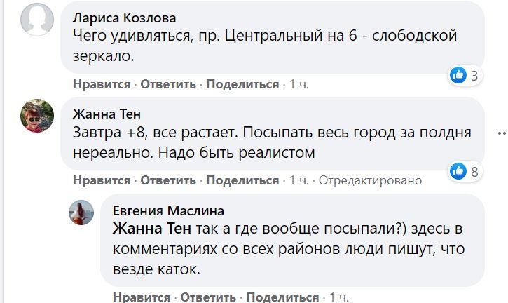 Николаев в ледяной глазури. Что говорят николаевцы (ФОТО) 11