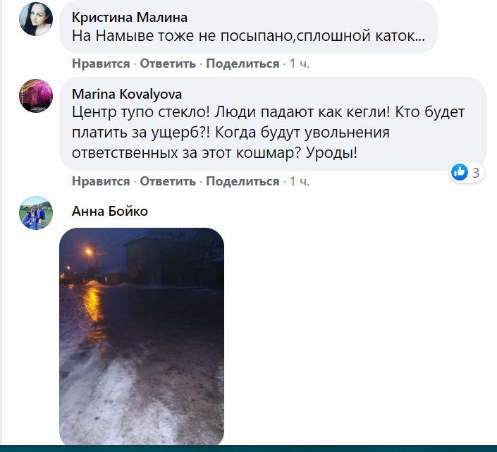 Николаев в ледяной глазури. Что говорят николаевцы (ФОТО) 15