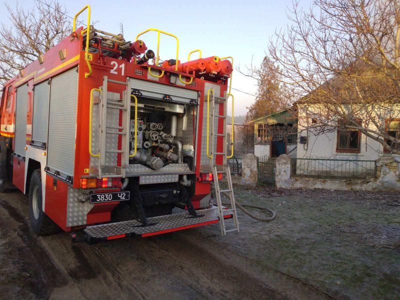 Из-за печки: спасатели Николаевщины тушили пожар в доме