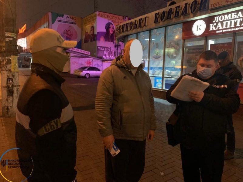 3000 долларов США взятки: в Николаеве задержан начальник районной ГИС и посредник (ФОТО)
