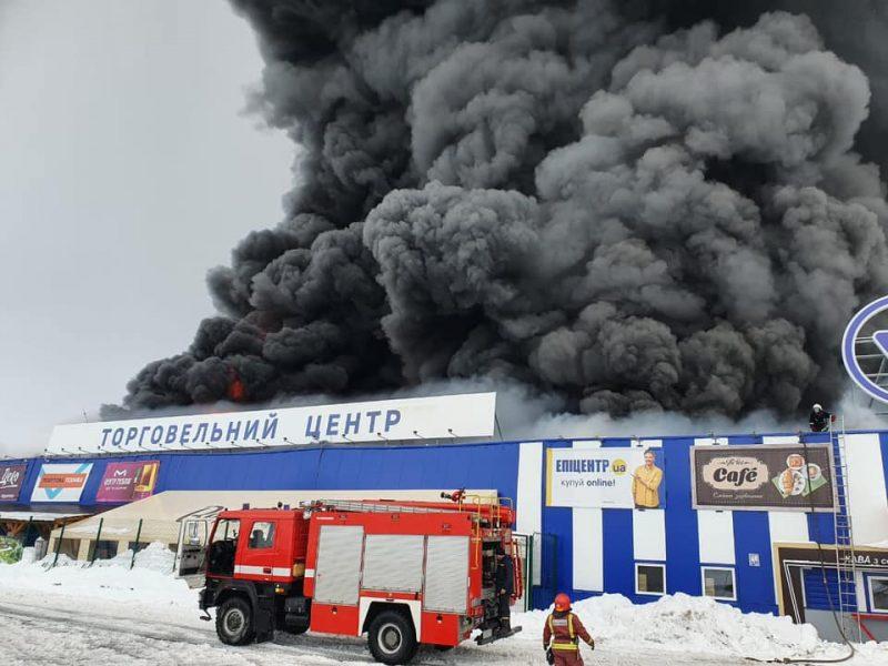 Сгоревший в Первомайске «Эпицентр» не был введен в эксплуатацию – ГАСИ