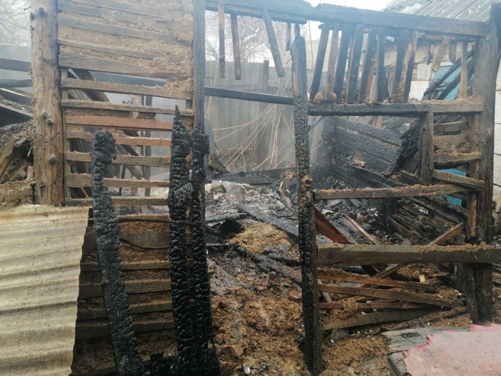 В Николаеве тушили хозпостройку - спасли 2 дома (ФОТО) 1
