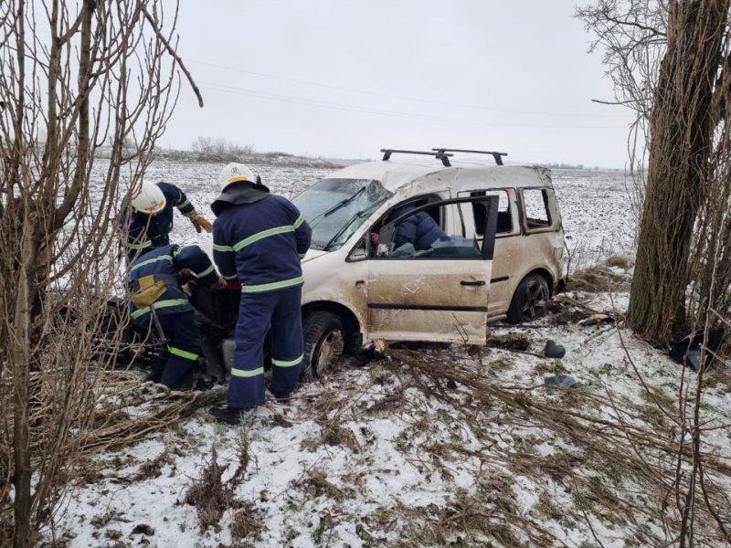 Внимание! На Николаевщине на дорогах гололед – и многочисленные ДТП (ФОТО)