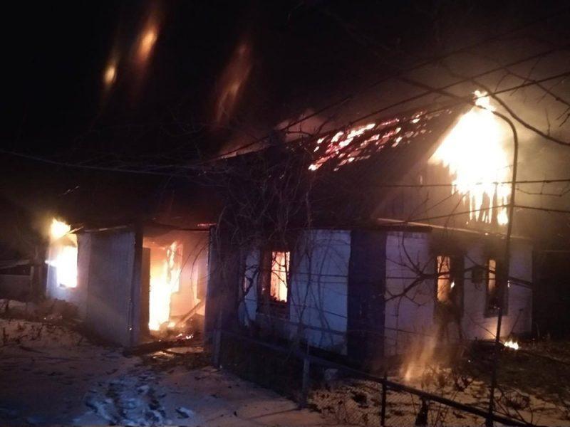 В Новом Буге на пожаре погибла женщина (ФОТО)