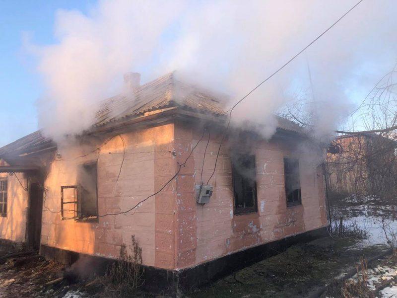 На Николаевщине на пожаре погиб мужчина (ФОТО)