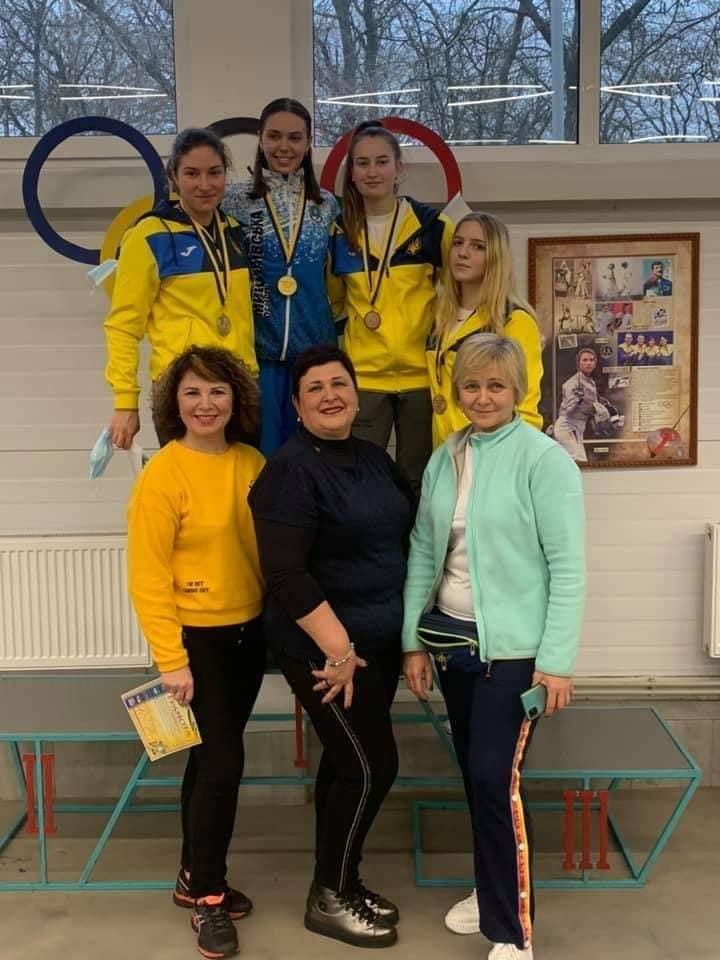 В Николаеве завершился чемпионат Украины по фехтованию на рапирах: какие медали завоевали николаевские спортсмены (ФОТО) 3