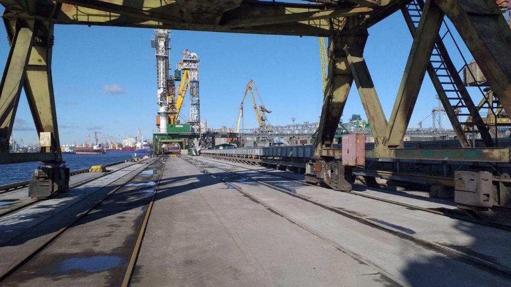 Николаевский морской порт завершил ремонт 208-метрового причала (ФОТО) 3