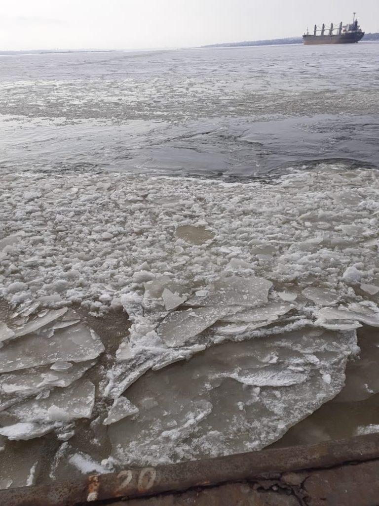 Второй раз за сезон в портах Николаева объявлена ледовая кампания (ФОТО) 3