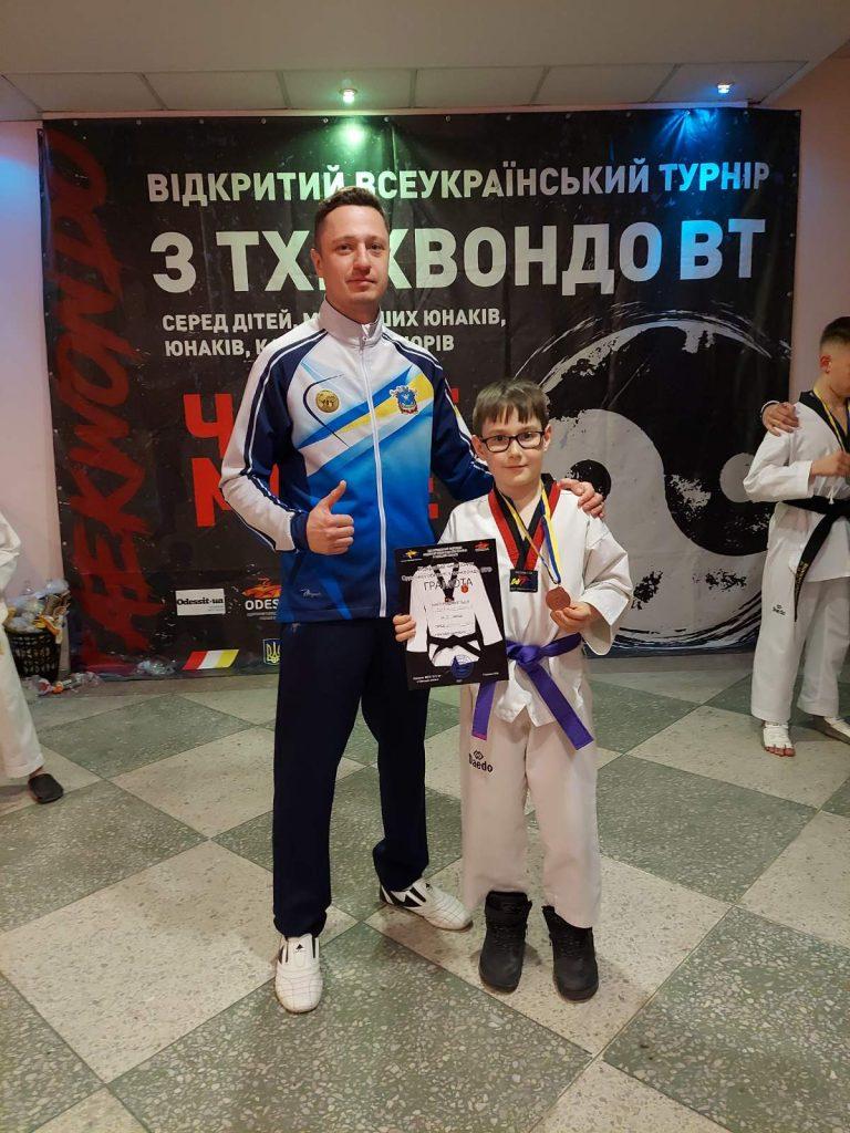 Юные тхэквондисты Николаева привезли из Одессы 10 наград (ФОТО) 5
