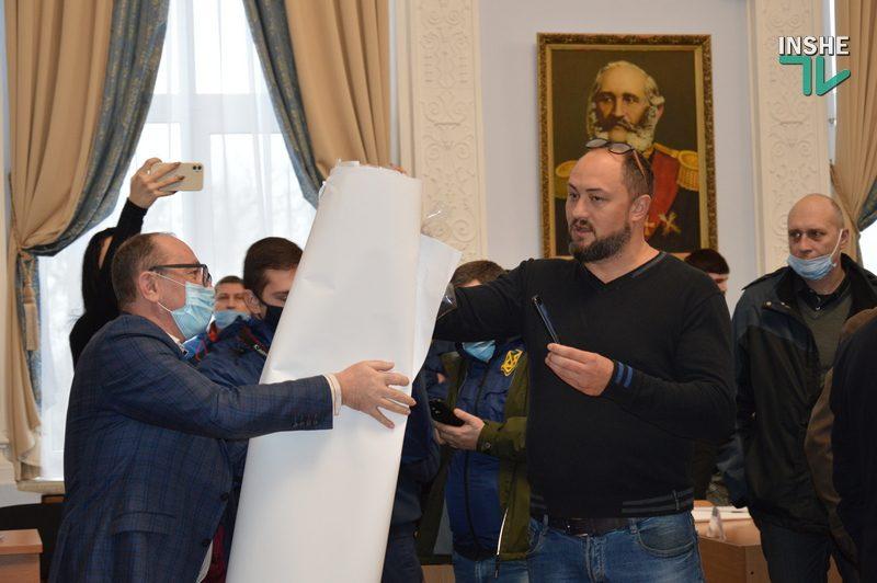 В повестку дня сессии Николаевского горсовета включен вопрос об осуждении действий депутата Невенчанного