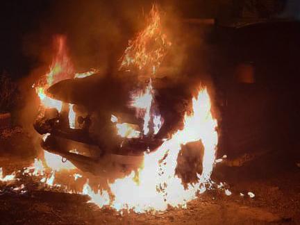 Вечером и ночью в Николаеве горели два автомобиля (ФОТО)