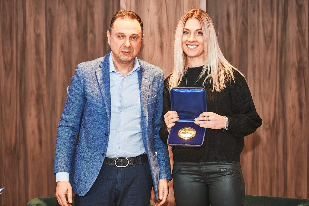 Николаевская саблистка Ольга Харлан получила награду от Международной федерации фехтования (ФОТО, ВИДЕО) 1