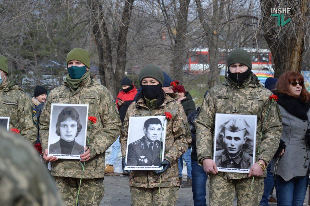 В Николаеве прошел митинг в память воинов-афганцев (ФОТО и ВИДЕО) 13