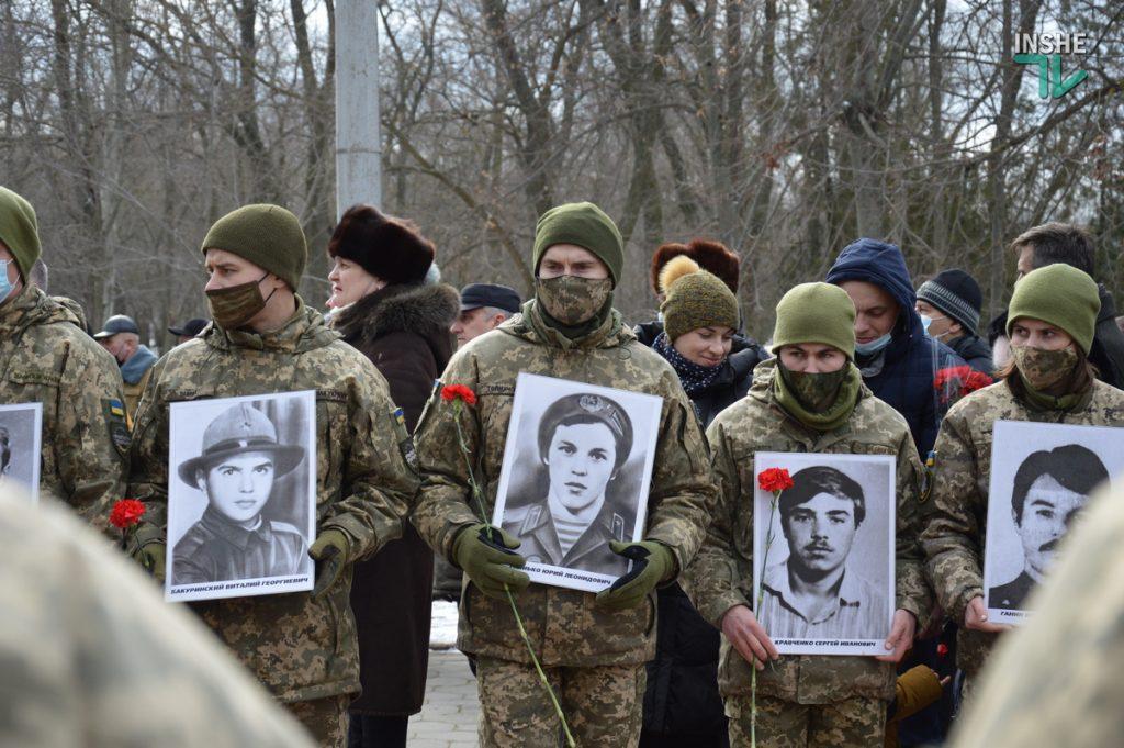 В Николаеве прошел митинг в память воинов-афганцев (ФОТО и ВИДЕО) 23