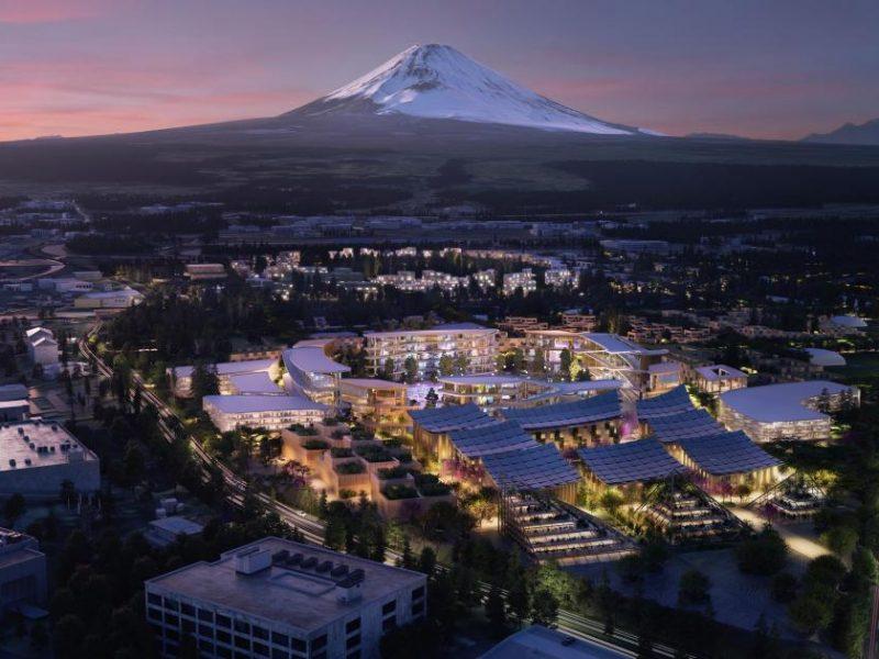 Toyota у подножия Фудзиямы построит умный город будущего. Для избранных