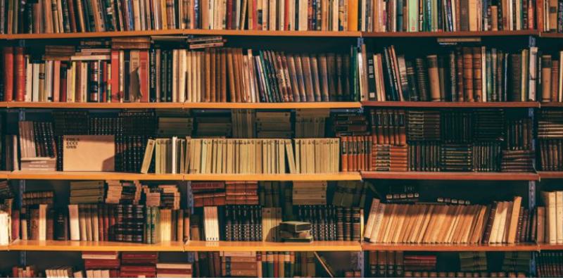 В Британии начали скупать больше книг ради красивого фона в Zoom