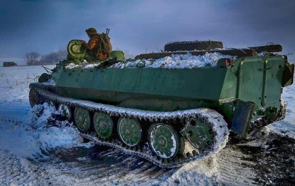 Российские наемники дважды обстреляли позиции ВСУ на Донбассе