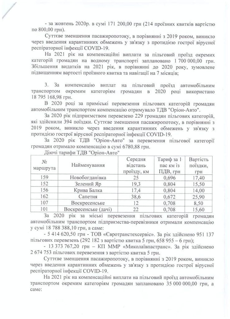 Николаев за речных пассажиров-льготников заплатил Администрации речных портов 700 тыс. А в этом году заплатит 1,7 млн.грн. 7
