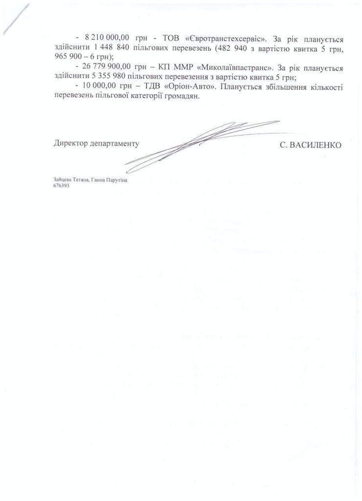 Николаев за речных пассажиров-льготников заплатил Администрации речных портов 700 тыс. А в этом году заплатит 1,7 млн.грн. 9