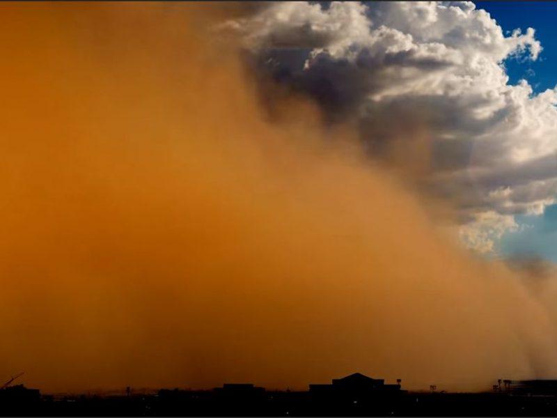 В Европу из Сахары движутся огромные массы пыли, возможны грязные дожди (ФОТО, ВИДЕО)