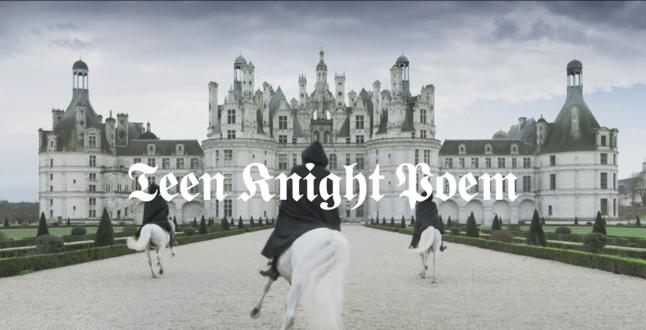 «Teen knight poem»: французский дом моды Céline устроил показ в замке Шамбор (ВИДЕО)