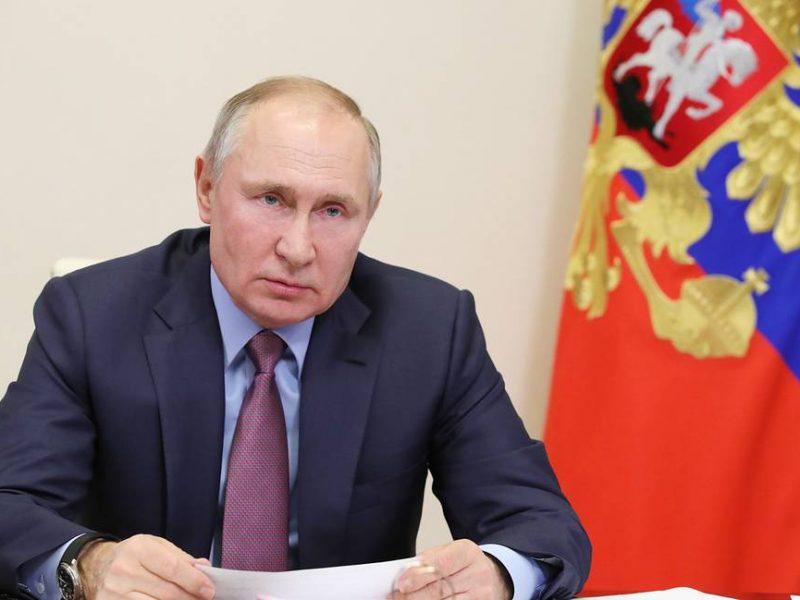 Путин заявил, что Донбасс не бросит ни при каких обстоятельствах