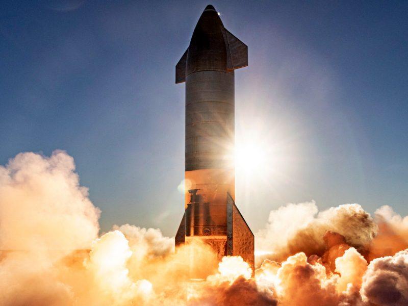 Космический корабль Маска разбился при посадке после тест-полета (ВИДЕО)