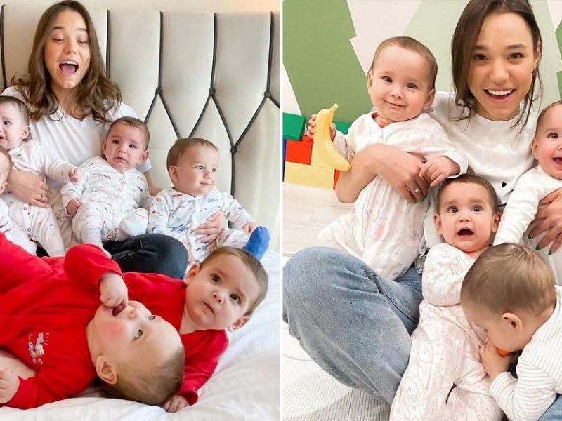 В России суррогатные матери родили для 23-летней жены миллионера 10 детей. Ей нужно еще больше (ФОТО)