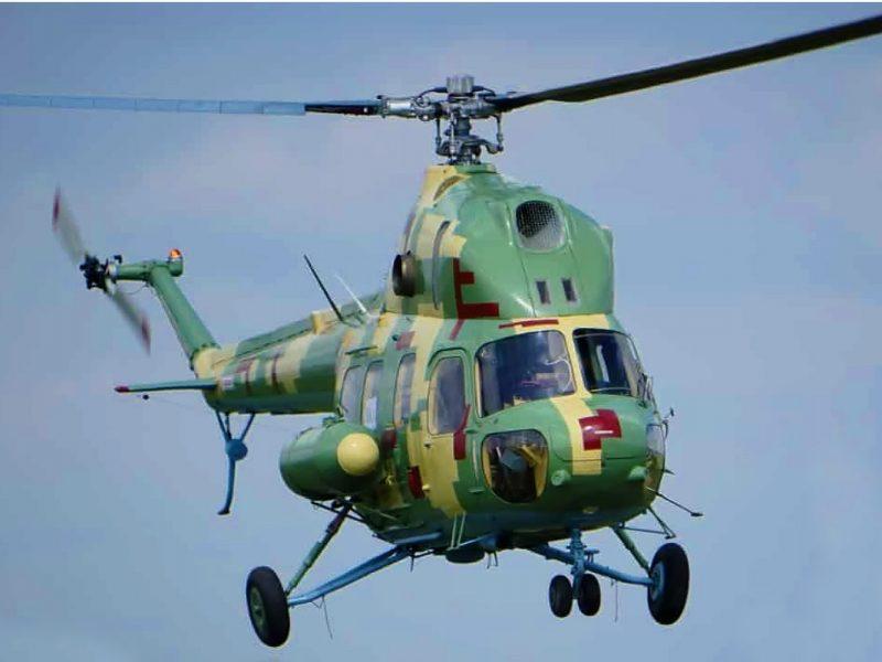 Бригада морской авиации в Кульбакино получила модернизированный вертолет МИ-2