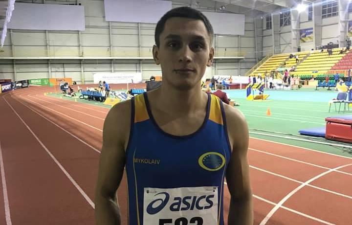 Николаевский легкоатлет на чемпионате Украины обновил рекорд Николаевской области в беге на 60 м (ФОТО)