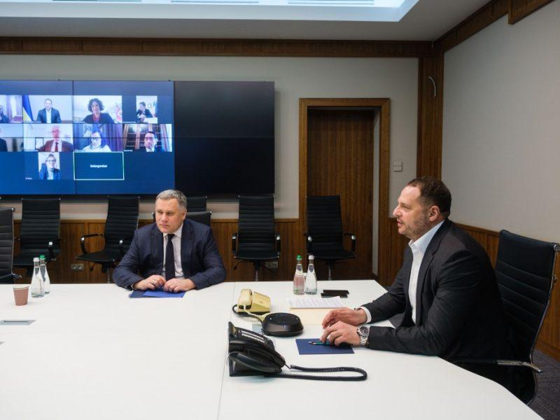 Ермак – послам стран G7: Украина готова к дискуссиям в формате ТКГ по обеспечению режима тишины на Донбассе
